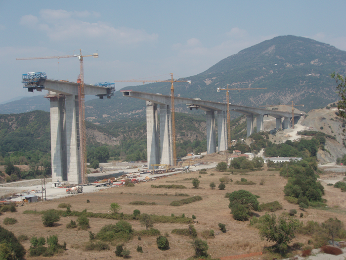 A2 Motorway, Greece - Section Driskos-Chrysovitsa - Arachthos bridge - 05www