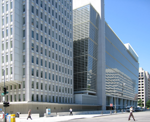 2World Bank building at Washington